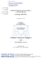 Rapport des comptes annuels – 2020